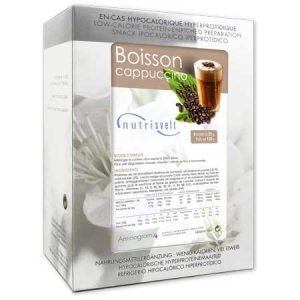 BOISSON CAPPUCCINO HYPERPROTEINEE NUTRISVELT 6 x 25g