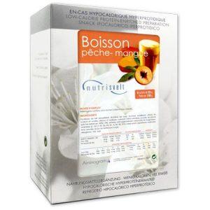 BOISSON PECHE-MANGUE HYPERPROTEINEE NUTRISVELT 6 x 25g