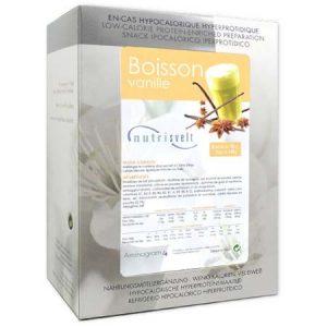 BOISSON VANILLE HYPERPROTEINEE NUTRISVELT 6 x 25g